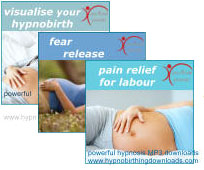 hypnobirthing release fear mp3 downloads
